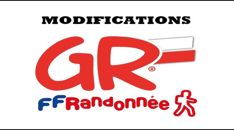 Modifications sur les GR36 et GR 646